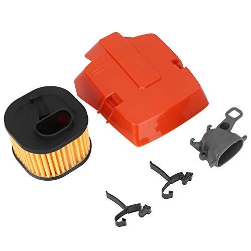Emoshayoga Piezas de Motosierra Material ABS Soporte de Filtro de Aire HD Resistente al Desgaste Durable para Mejorar el Rendimiento de la Motosierra Husqvarna 362365371372 372XP