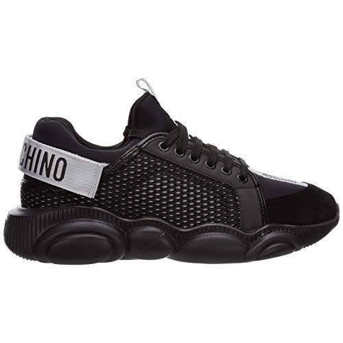 Moschino Teddy Sneakers für Herren, Schwarz, Schwarz - Schwarz  - Größe: 42 EU