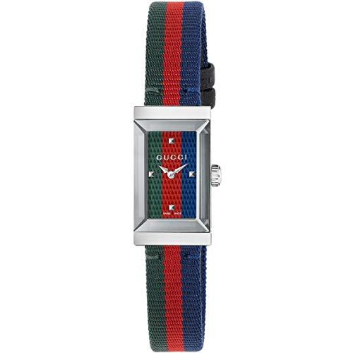 Gucci YA147509 - Reloj de pulsera para mujer (nailon)
