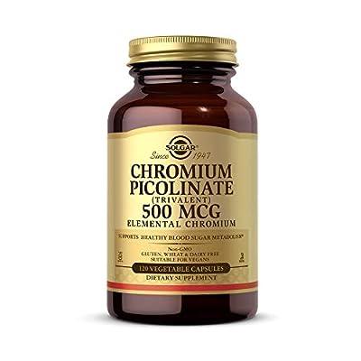 Solgar Chromium Picolinate 500 mcg, 120 Vegetable