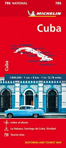 Michelin Kuba: Straßen und Tourismuskarte 1:800.000 (MICHELIN Nationalkarten)