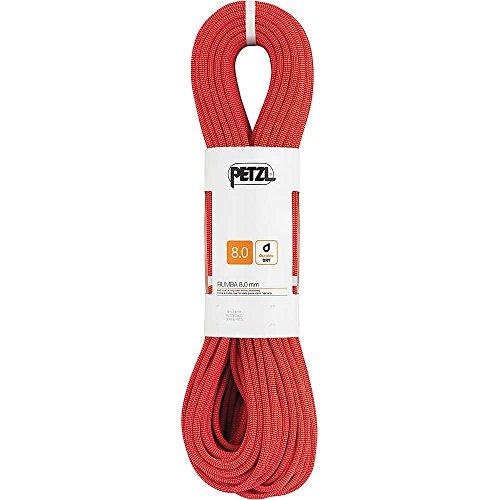 PETZL Erwachsene Verticality Halbseil, rot, 50m