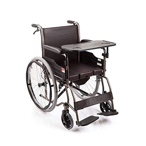 Rolstoel inklapbare draagbare toiletbril multifunctionele eettafel rolstoel