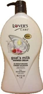 Lover's care goat's milk shower cream 40.7 oz (1200ml) -Cherry Blossom plus Bio Nutrient