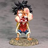 Modelo Figurilla Coleccionable Anime De Bricolaje Dormitorio Creativo Sombrero De Paja Luffy Hinchad...