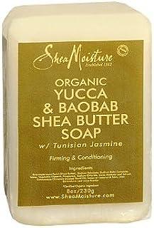 Shea Moisture Yucca and Baobab Shea Butter Soap, 230 g