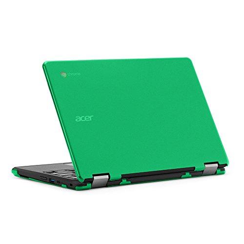 """mCover - Carcasa rígida para ordenador portátil Acer Chromebook Spin 11 R751T CP311 de 11,6"""" (** No es compatible con la serie CP311-3H **) color verde"""