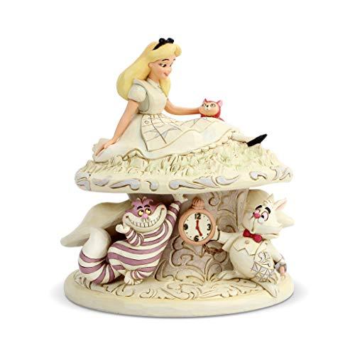 Disney Traditions, Figura de Alicia en el País de las Maravillas con Gato de...