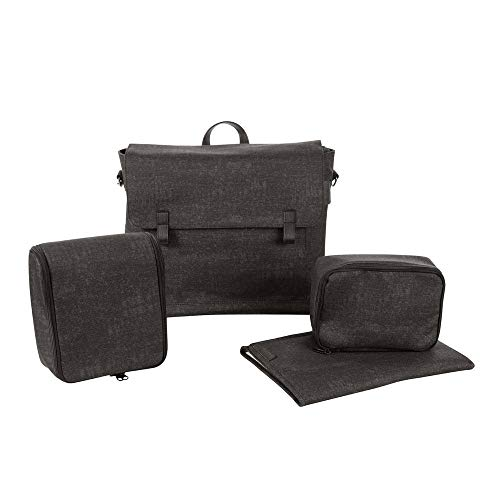 Maxi Cosi Modern Bagpraktische luiertas met veel extra's, thermobox, luiertas, thermobox, toilettas, babytas, luiertas zwart