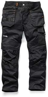 Scruffs Men's Trade Flex Trouser Trade Flex Trouser Black 36R