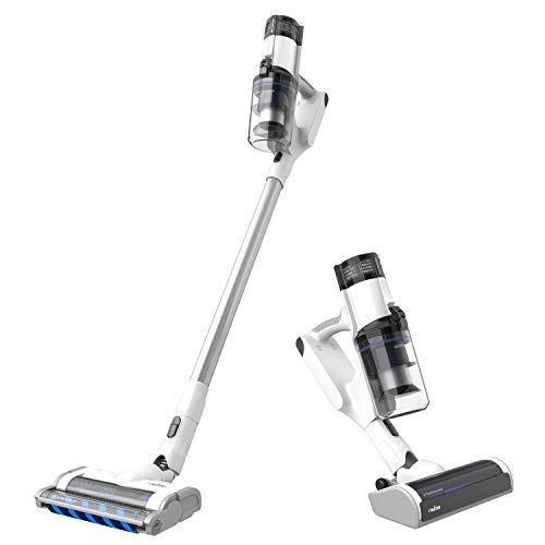 RAYCOP Omni Power UV+ Bundle | Cordless Stick Vacuum Cleaner | Sanitizing UV Light | Eliminates Bacteria and Viruses | Removes Dust Mites | White