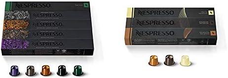 Nespresso Capsules OriginalLine, Ispirazione Variety Pack, Medium & Dark Roast Espresso Coffee, 50 Count Espresso Coffee...