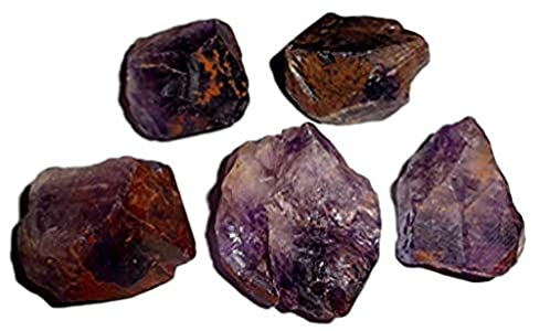 Sublime Gifts - 5pc Raw Cacoxenite Super 7 / Sacred 7 AA Grade Melodies Stone Crystal Healing Gemstone Natural Rough Stone specimens