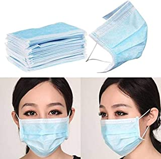 ETAILPACK Mouth Mask Respirator Medical Disposable Face Masks (Set of 50 Pieces)