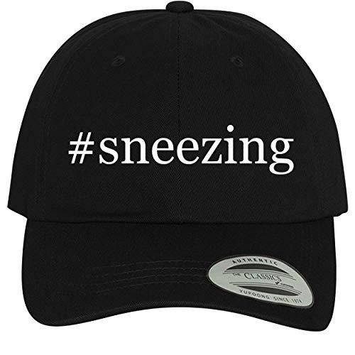 BH Cool Designs #Sneezing - Comfortable Dad Hat Baseball Cap, Black