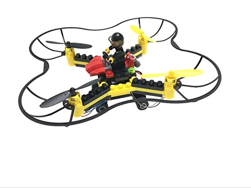 Force Flyers DIY Fly n Drive Building Block Drone