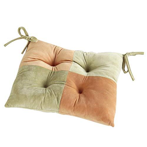 Weimay - 1 cojín para Silla, cojín de Color para el hogar, cojín para sillas, para el Comedor, el jardín, la Cocina, el Bar, la Oficina, el Comedor, la Silla de Ruedas, el Coche, el sofá 40 x 40 cm