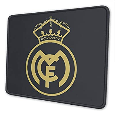 Real Madrid Club De Fútbol Mouse Pad for Laptops Office Computer Mouse Pad Personalized Design Non Slip Rubber Mouse Mat