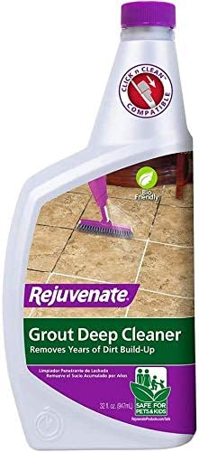 Rejuvenate Grout Deep Cleaner Safe Non Toxic Cleaning Formula Instantly Removes Years of Dirt product image