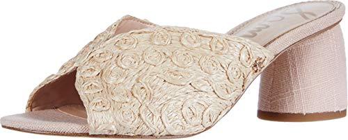Sam Edelman Women's Sareen Heeled Sandal, Seashell Pink, Numeric_6