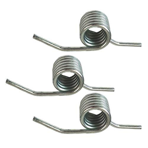 VOSAREA Lot de 3 ressorts de torsion 3 tonnes - Cric horizontal - Poignée hydraulique épaississement - Ressort de torsion - Pièces de rechange pour outils de réparation automobile