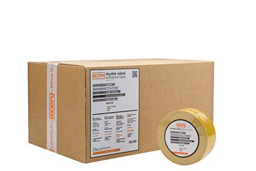 Boma B40350100027 dubbelzijdige tape voor tapijt, 50 x 25 m, 24 stuks