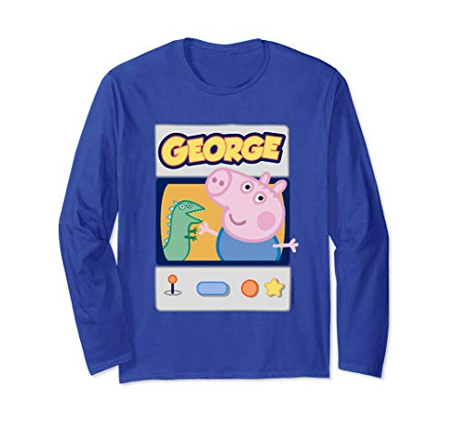 George Pig Gamer Manga Larga
