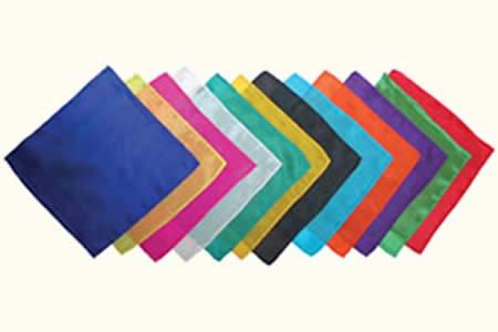 Foulard en soie (22,5 x 22,5 cm) EMERAUDE