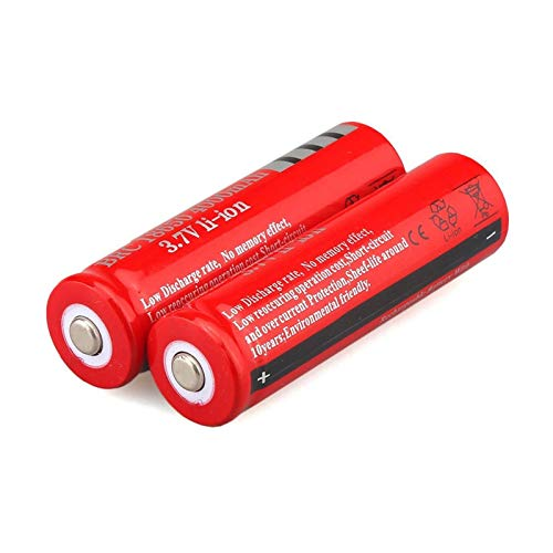 Marxways_ 18650 Akku Akku 4000 mAh 3,7 V Akku für LED-Taschenlampe 18650 Battery Rechargeable Battery 4000 mAh 3.7 V Battery For LED Flashlight