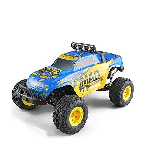 1/12 4WD de alta velocidad a pie grande Escalada Monster Truck RC, 2.4G todo terreno antideslizante y resistente a los golpes de carreras de coches, 30 kmh RC Car, del cumpleaños del niño de control r