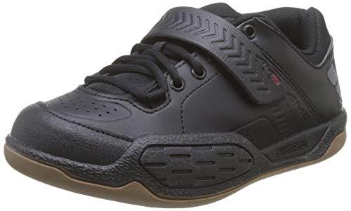 SHIMANO–Maglietta AM5SPD Cycling Shoe, Uomo, BAM50043, Black/Red, 43
