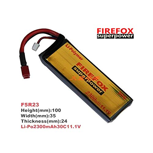 Sale!! Part & Accessories 1pcs 100% Orginal FireFox 11.1V 2300mAh 30C Li Po AEG Airsoft Battery F5R2...