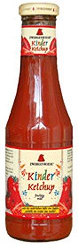 6er-VE Kinder Ketchup mit Apfelsüße 500ml Zwergenwiese