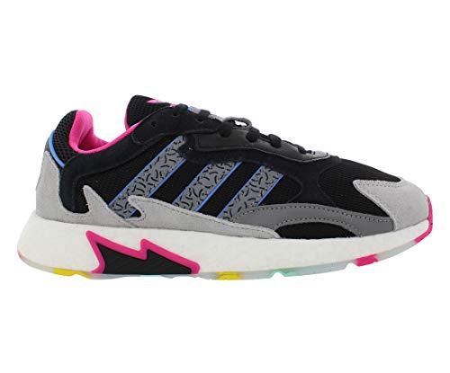 adidas Tresc Run Mens Shoes Size 11.5, Color: Black/Grey/Pink ⭐