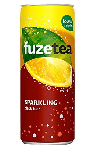 Fuze Tea Thé Noir Pétillant 25cl (pack de 24)