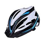 Casque de Protection pour Le Cyclisme VTT Casque de vélo léger Casque de vélo Casque d'équitation Hommes et Femmes Casque Equitation (Couleur: Bleu, Taille: 56-62cm) (Color : Blue, Size : 5662cm)