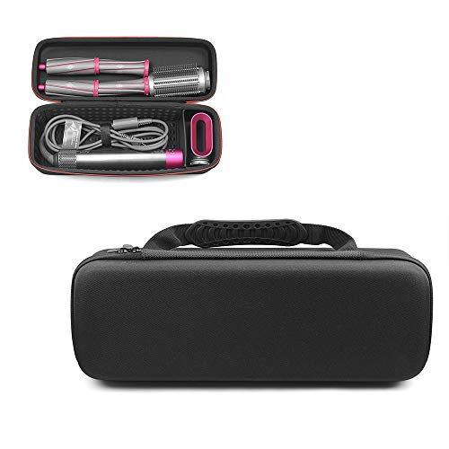 Hooshion Hard Travel Case Carry Bag Storage Bag for Dyson Airwrap Styler Hair Curler Accessories