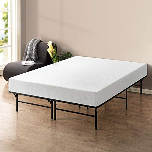 Best Price Mattress - 10 Inch Memory Foam Mattress and 14 Inch Premium Steel Bed Frame/Platform Bed Set, Full