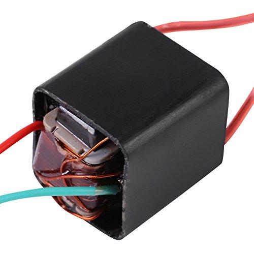 Miniature DC 3.6~6V to 20KV High Voltage Transformer Boost Step-up Inverter, Arc Pulse Generator, Power Module, Black