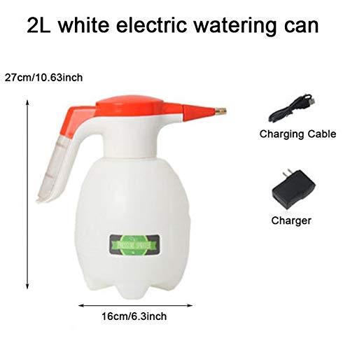 2L elektrische drukspuit, automatische gieter gieter schoonmaken tuingereedschap