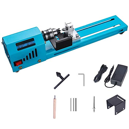 Fantastic Deal! TTOP DIY Portable Woodworking Lathe Drill 150W Miniature Electric Woodworking Lathe ...