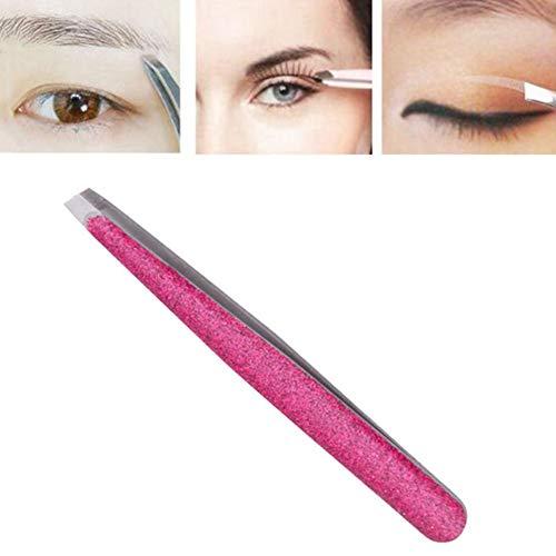 Pince Brucelle Brucelles Femmes Beauté Produits Meilleure Précision pour Sourcils Pince À sourcils Professionnel Sourcils Produits pink