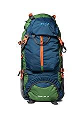 F Gear Hunter 75 Ltrs Blue Grn Rucksack (3196),Uber Fashion Merchandise Pvt. Ltd.,3196