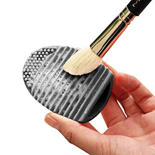 Tuzi Qiuge Cleaner Scrubber Outil de Nettoyage en Silicone cosmétiques Make Up Brosse de Lavage (Color : Magenta)