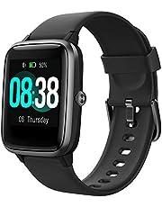 YONMIG Smartwatch Fitnessarmband Tracker Volledig Touchscreen Horloge Hartslagmeter Waterdicht IP68 Polshorloge Smart Watch Stappenteller Stopwatch Bluetooth Sporthorloge voor iOS Android Dames Heren