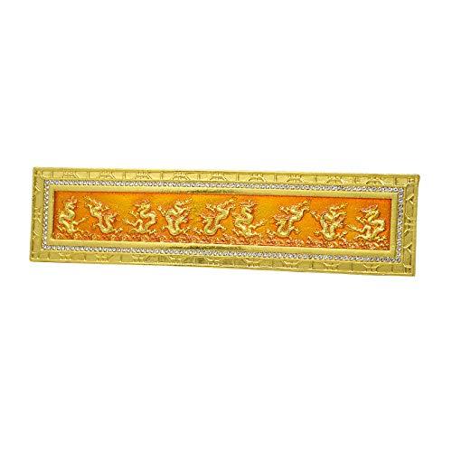 Feng Shui Nine Golden Dragons Plaque for Home Office...