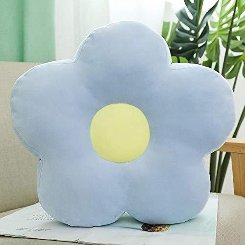 GYFDC 1pc 40 cm mooie verse kleurrijke bloem pluche kussen speelgoed zachte cartoon plant knuffeldop stoel kussen sofa kids liefhebbers verjaardagscontrein kerstcadeau