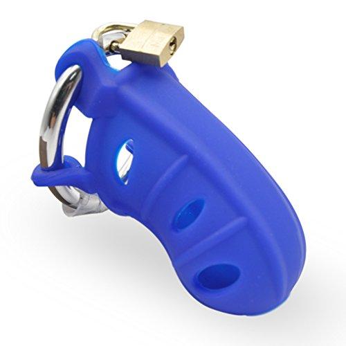 Raycity 184 Käfig-Gerät für Männer, 1 Stück S blau