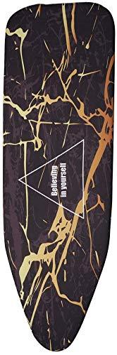 XHCP 140x50 CM Tela marmoleado Cubierta de Tabla de Planchar Prensa Protectora Plancha Plegable para Planchar Tela Protector Proteger...