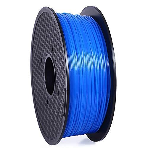 3d Printer Filament PETG Luminous Filament High Temperature Resistant Non-stretching PETG Filament 1 Kg Spool Of 3d Printing Material Blue PETG